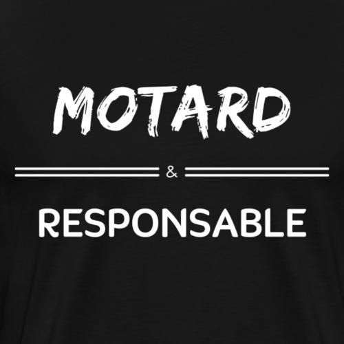 TSHIRT_MOTARD_RESPONSABLE - T-shirt Premium Homme