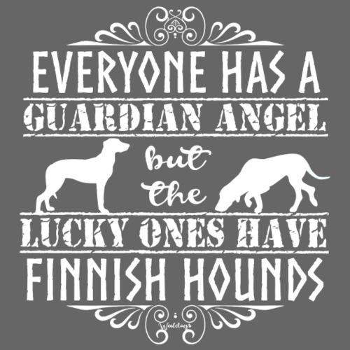 finnishhoundangels - Miesten premium t-paita