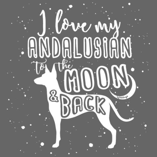 Andalusians Moon - Miesten premium t-paita
