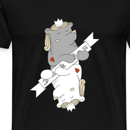 Re di Cuori - Maglietta Premium da uomo