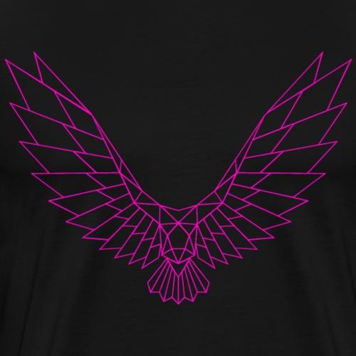 Be Free Pinkbird Edges Collection - Männer Premium T-Shirt