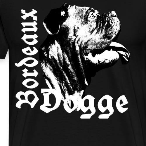 Dogge,Bordeaux,Mastiff, Bulldoggen,Hundekopf,Hunde - Männer Premium T-Shirt