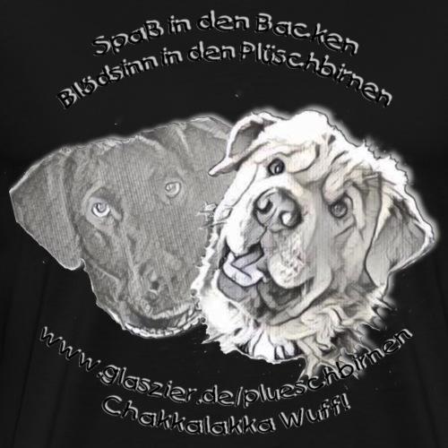 Bild zusammengesetzt dun - Männer Premium T-Shirt