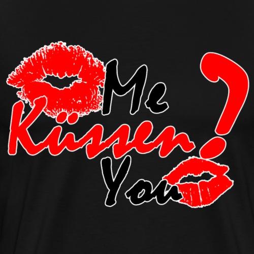 Küss mich - Männer Premium T-Shirt