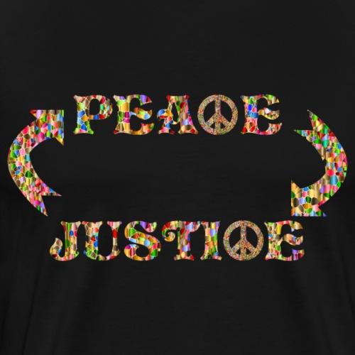 Peace Justiqe - Männer Premium T-Shirt