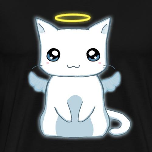 Angel kitty 1 - Men's Premium T-Shirt