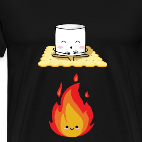 Marshmallow and Biscuit - Maglietta Premium da uomo