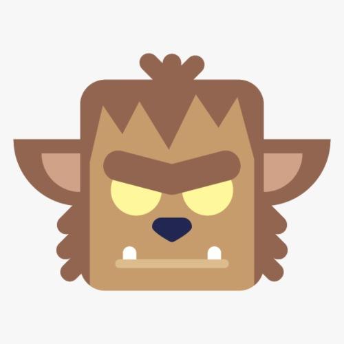 Mini Monsters - Werewolf - Herre premium T-shirt