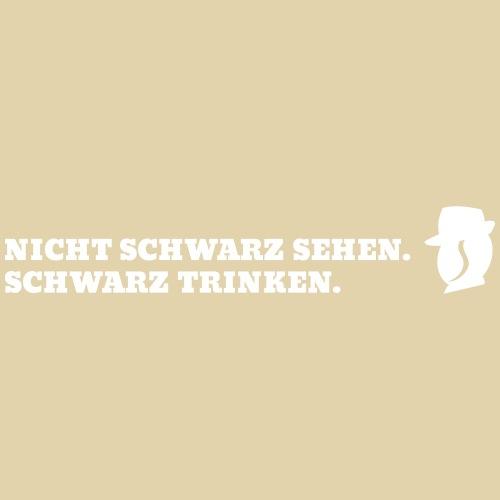 SchwarzTrinken - Männer Premium T-Shirt