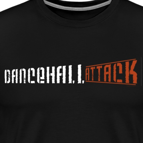 Dancehall Attack White Collection - T-shirt Premium Homme