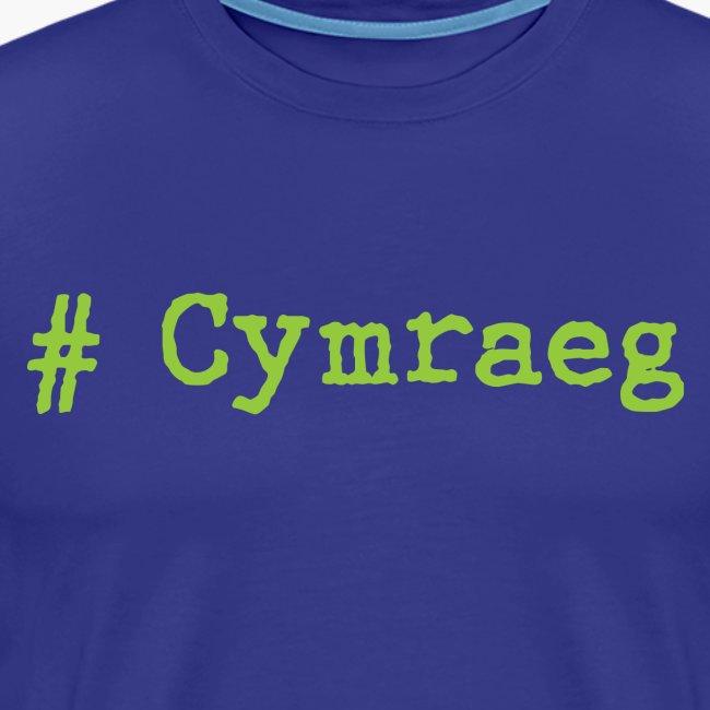 'Hash tag' Cymraeg