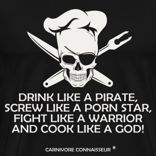 drink-like-a-pirate - Männer Premium T-Shirt