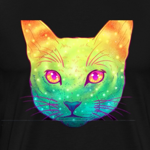 Techno Cat - Männer Premium T-Shirt