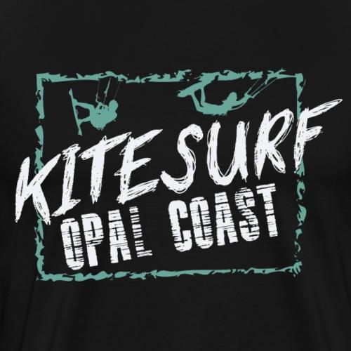 kiteSurf Opal Coast - T-shirt Premium Homme
