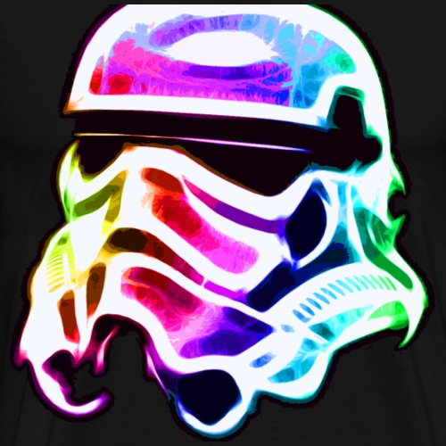 Rainbow Stormtrooper - Men's Premium T-Shirt