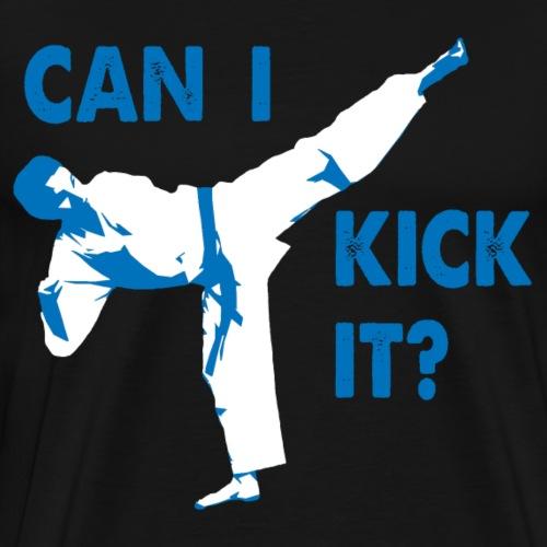 Can I Kick It (blue) - Men's Premium T-Shirt