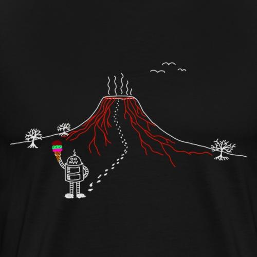 Vulkan2 - Männer Premium T-Shirt