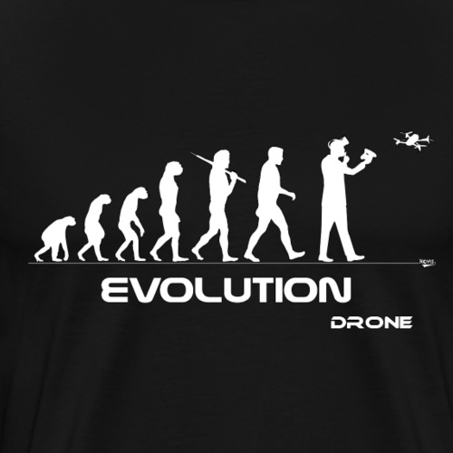 Évolution Drone - T-shirt Premium Homme