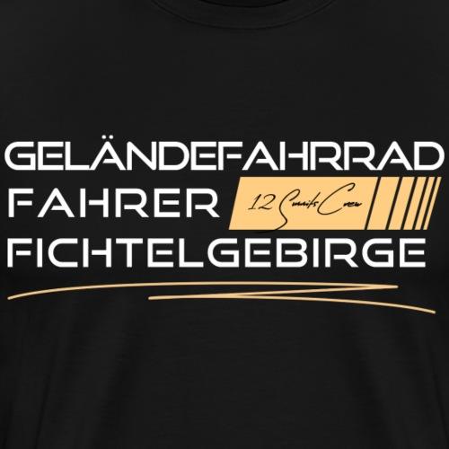 Geländefahrrad MTB Fichtelgebirge - Männer Premium T-Shirt
