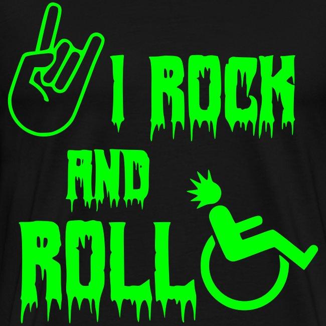 > Ik rock en rol in mijn rolstoel, roller, muziek