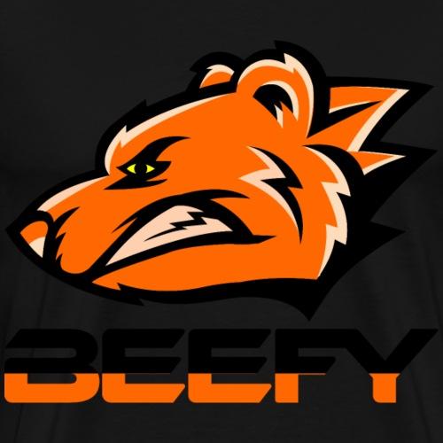 Beefy Growling Bear - Men's Premium T-Shirt