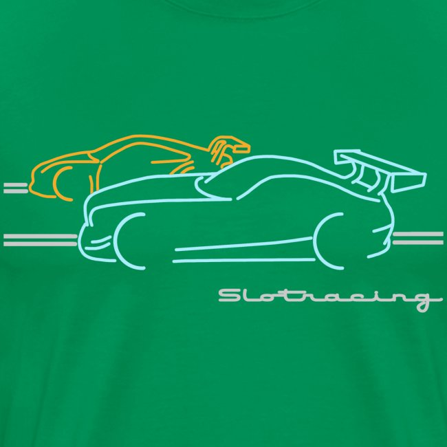 Slotracing 2 cars
