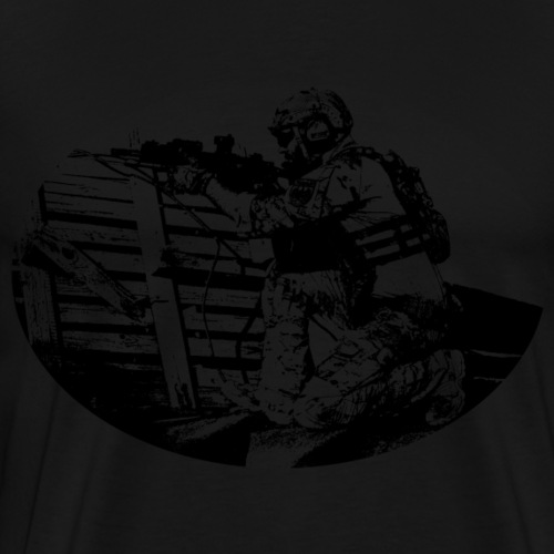 Soldier (black) - Men's Premium T-Shirt