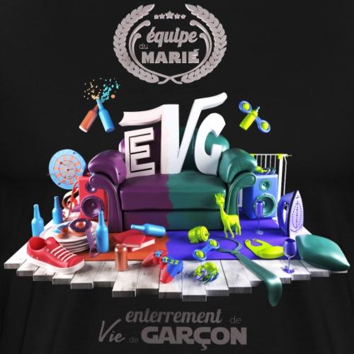 EVG - équipe du marié - T-shirt Premium Homme