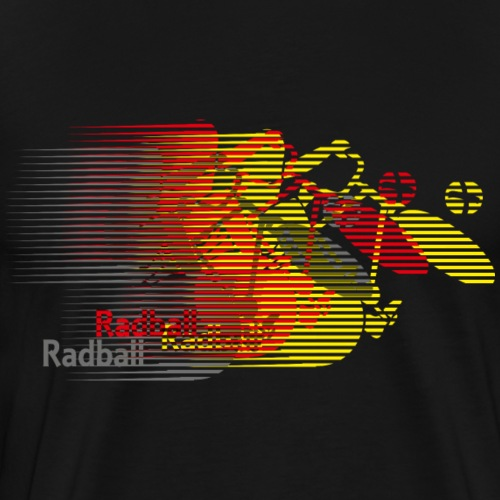 Radball | Earthquake Germany - Männer Premium T-Shirt