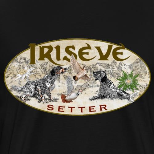 iriseve setter ingles - Maglietta Premium da uomo