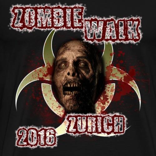 shirt zombie walk2 png - Männer Premium T-Shirt