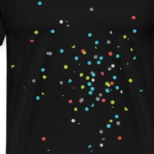 Konfetti - Männer Premium T-Shirt