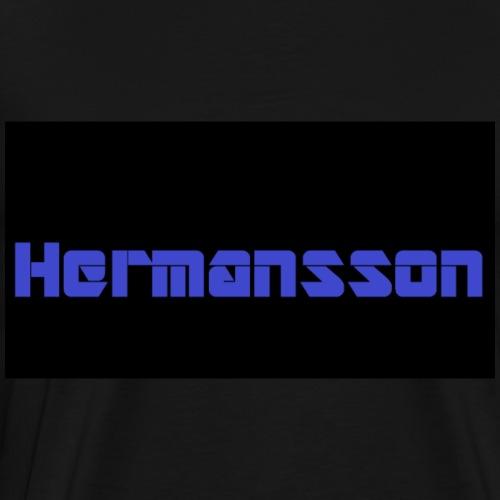Hermansson Blå/Svart - Premium-T-shirt herr