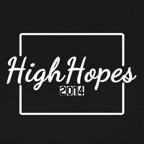 HighHopes - Weißes Logo - Männer Premium T-Shirt