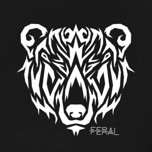 Bear Tribal - T-shirt Premium Homme
