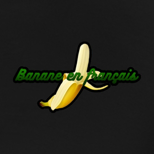 Banane en Francais - Mannen Premium T-shirt