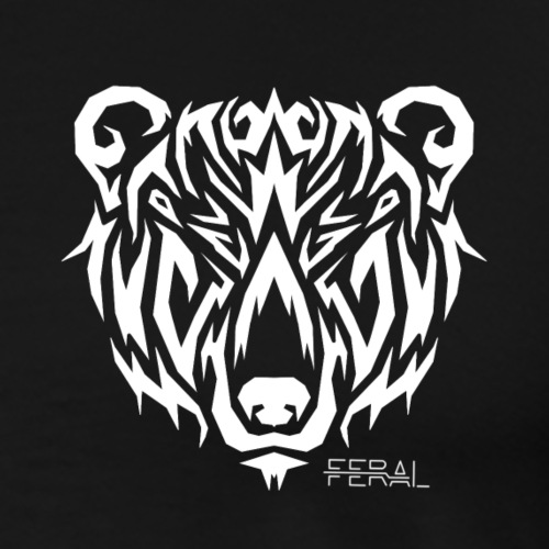 Bear Tribal - T-shirt Premium Homme