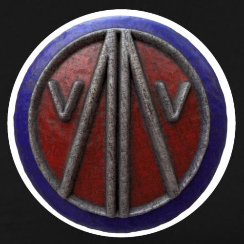 The Megalo Shield - Men's Premium T-Shirt
