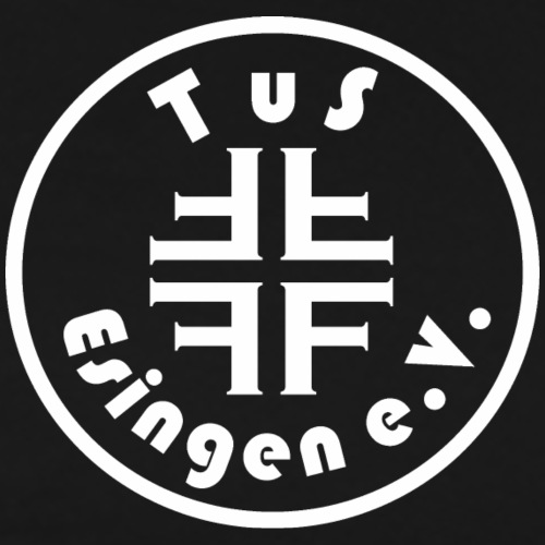 TuS-Esingen Logo Weiß - Männer Premium T-Shirt