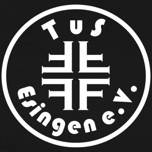 Vereins-Logo Weiß - Männer Premium T-Shirt