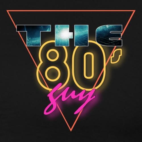The 80's Guy Logo - Men's Premium T-Shirt