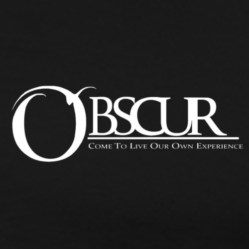 Petit logo Obscur - T-shirt Premium Homme