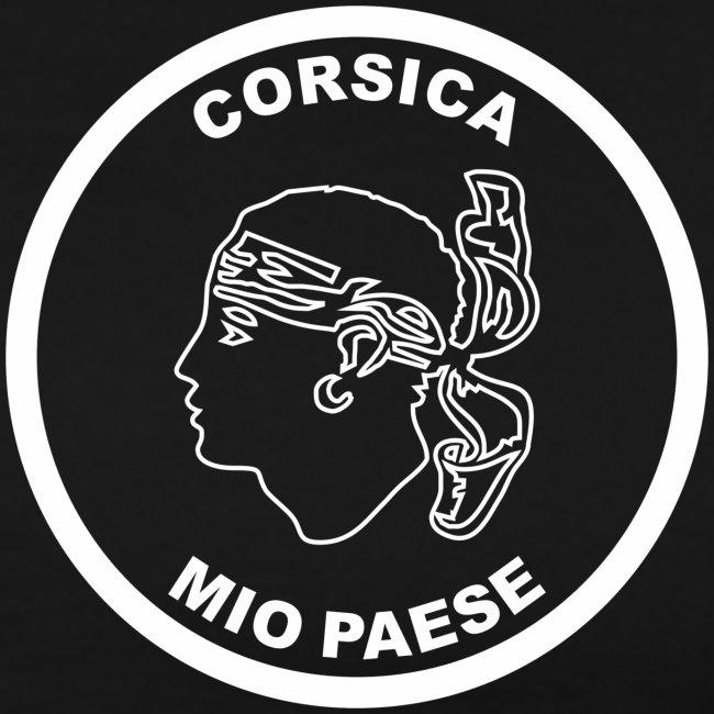 CORSICA  ECHARPE NOIRE CORSE TETE DE MAURE CORSICA