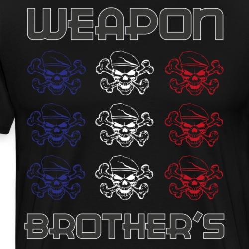 WB-DRAP-BBR - T-shirt Premium Homme