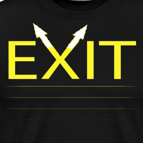Exit - Camiseta premium hombre