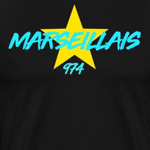 Collection étoile Marseillais du 974 - T-shirt Premium Homme