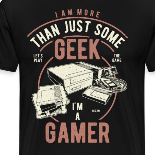 Geek Gamer - Männer Premium T-Shirt