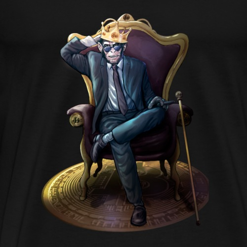 Bitcoin Monkey King - Gamma Edition - Männer Premium T-Shirt