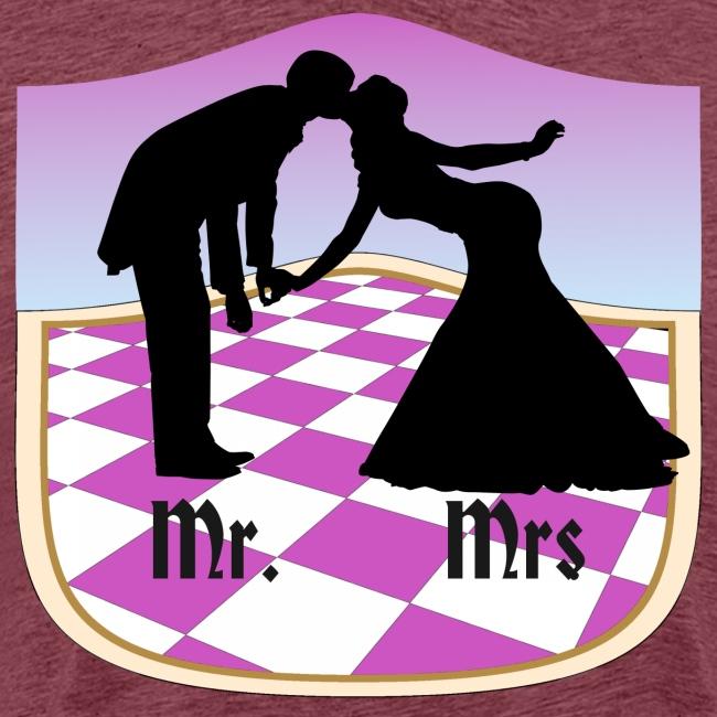 hochzeit Mr. und Mrs.