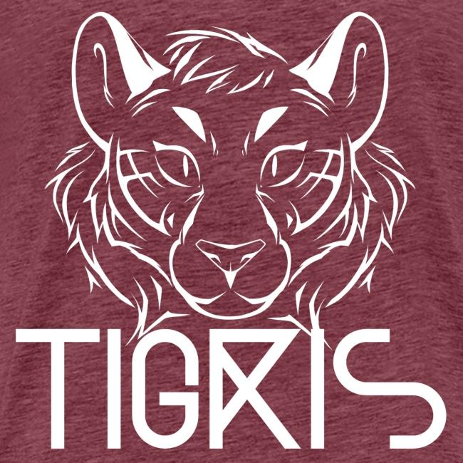 Tigris Logo Picture Text White
